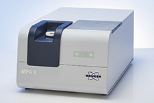 Learn more about the MPA II FT-NIR spectrometer