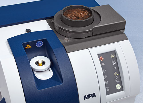 FT-NIR multi-purpose analyzer MPA for the analysis of olives, pomace and olive oil